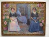 Pilar Montaner, Esperando els nuvils c. 1.910