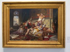 Ricard Ackermann, asalto al harén