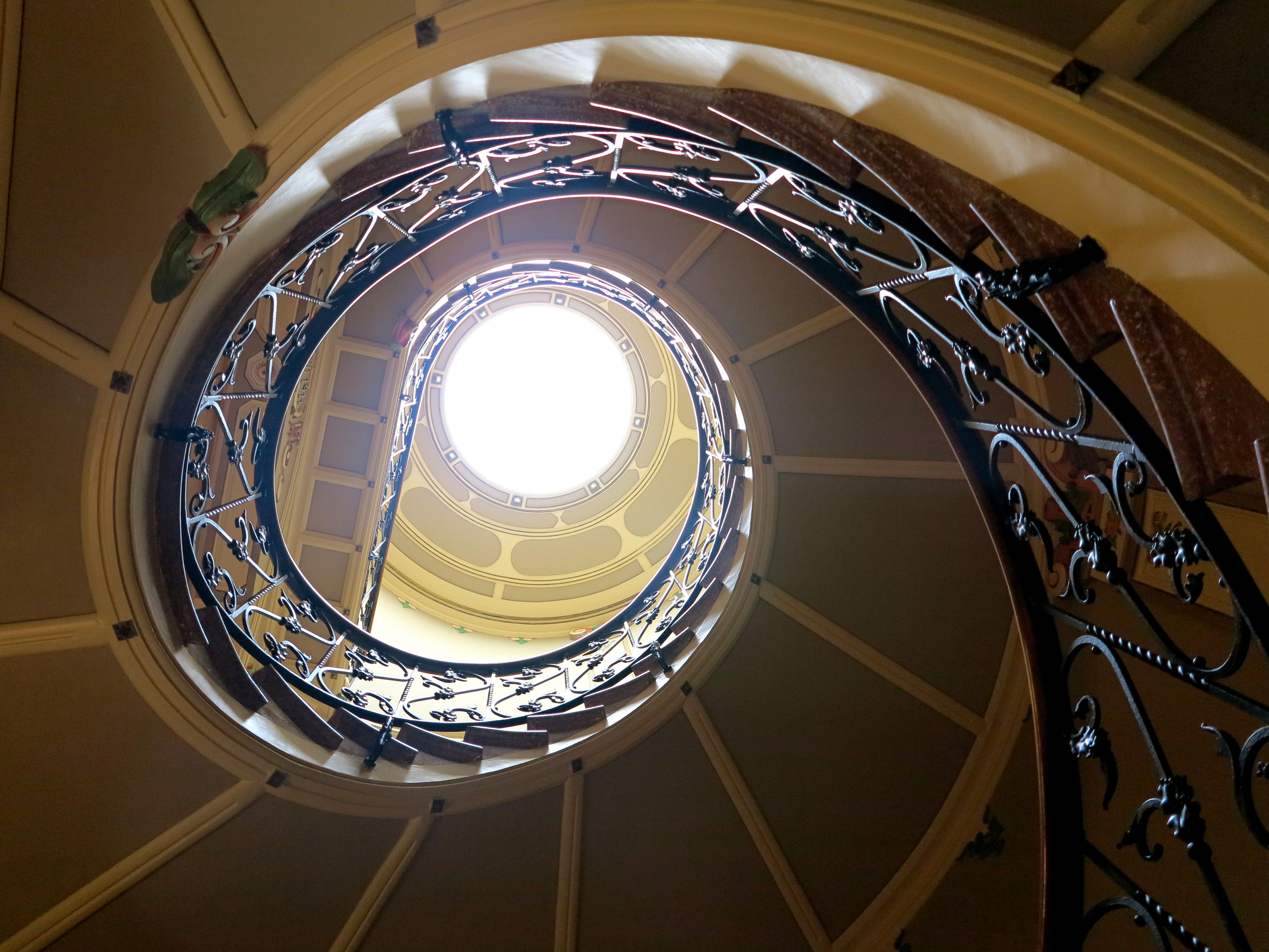 escalera espiral can prunera