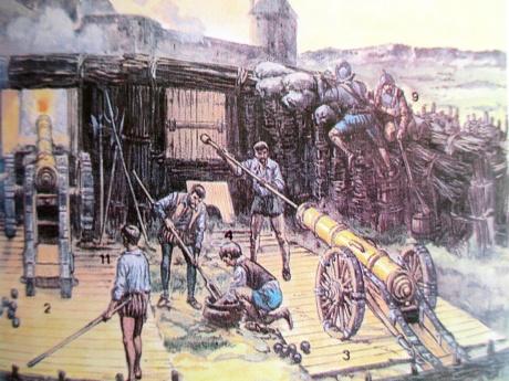 Artillería de asedio