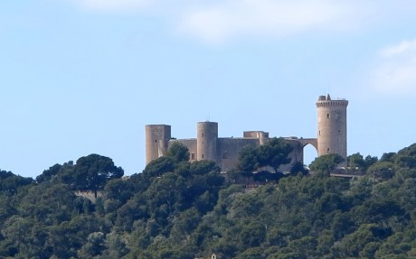 Castillo Bellver panorama