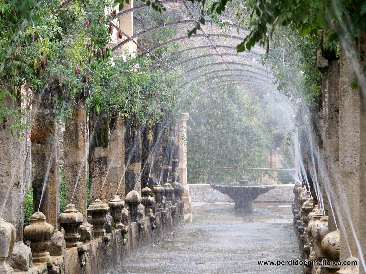 Juegos de agua en los jardines de alfabia y ii for Jardines alfabia