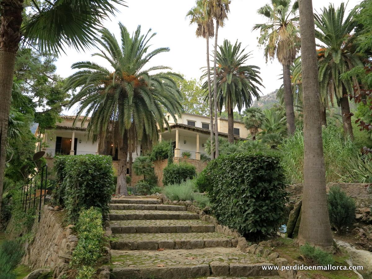 Jardinet de la reina perdido en mallorca for Jardin botanico soller