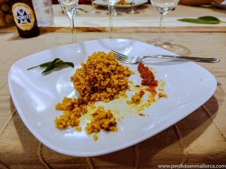 2 plato con arroz