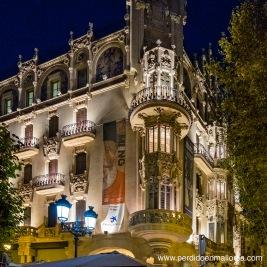 Caixa Forum Palma situado en el edificio que fue del antiguo Gran Hotel de Ciutat