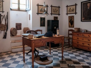 Despacho del amo o mayoral de Es Calderers.