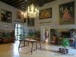 Salón de retratos en Alfàbia.