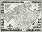 Plano de 1785 del Cardenal Despuig en el que se representan las casi 1300 possessions que existían en Mallorca a finales del siglo XVIII. Fuente: Wikimedia Commons.