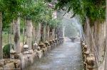 Galería de hidrias de Los Jardines de Alfàbia