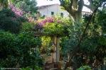 Otro bello rincón de otro de los jardines visitados