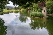 El agua abundante en el Valle de Superna permite hasta la formación de esta pequeña laguna