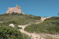 Camino de subida al Castillo