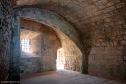 Interior de la fortificación por su cara Norte