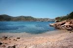 Cala en el camino hacia la Playa de Espalmador